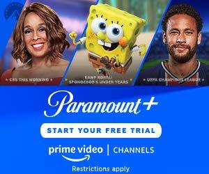 Advertisement - Try Amazon Prime Video