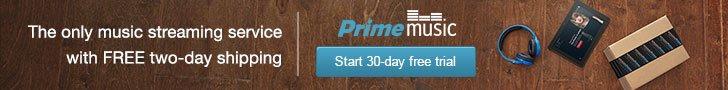 Amazon Prime Music Trial