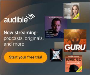 Advertisement - Try Amazon Audible Plus