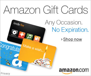 Amazon Gift Cards for any occasion