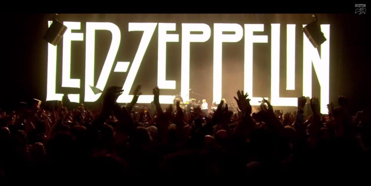 led zeppelin 39 s 2007 reunion concert coming to the big screen classics du jour. Black Bedroom Furniture Sets. Home Design Ideas