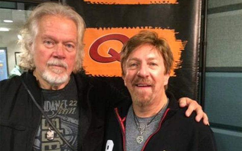 Randy Bachman and Q104.3 host Ken Dashow