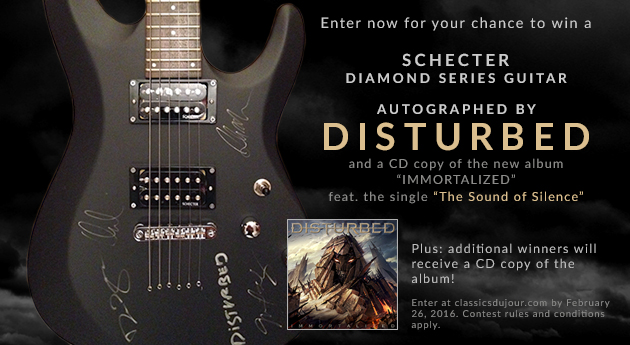 Enter for your chance to win a Schecter Diamond Series Guitar
