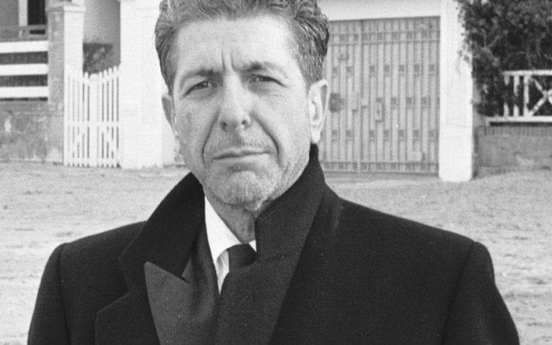 Leonard Cohen in 1988