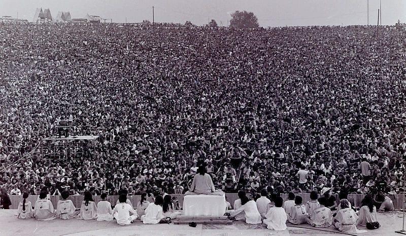 Woodstock Music Festival August 1969