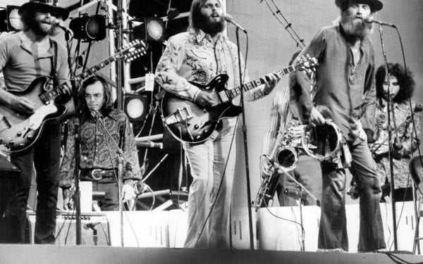 Beach Boys in Central Park 1971