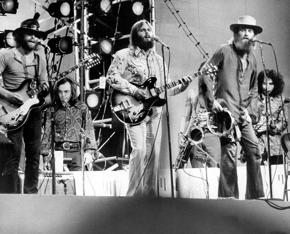 Beach Boys in Central Park 1971