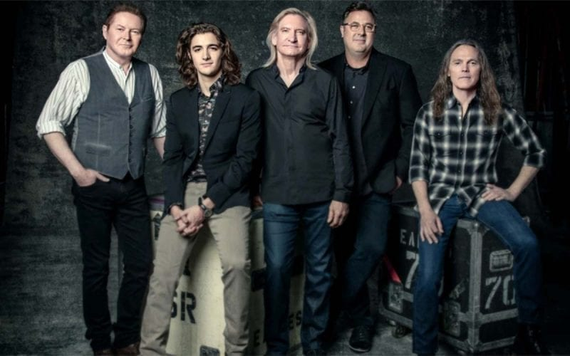 The Eagles with Deacon Frey and Vince Gill