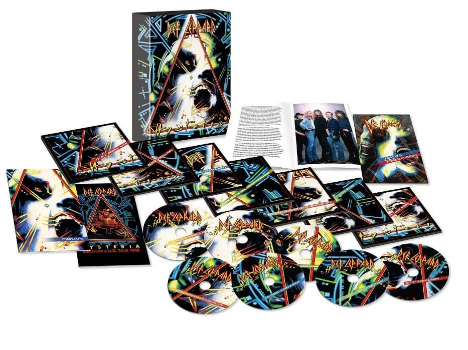 Def Leppard Hysteria 30th Anniversary Super Deluxe Box Set