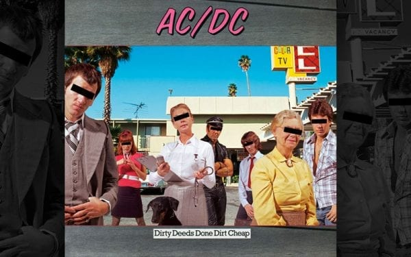 AC/DC Dirty Deeds Done Cheap