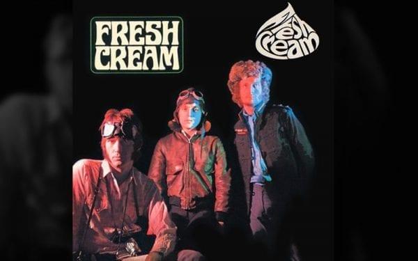 Fresh Cream album cover by classic rock band Cream
