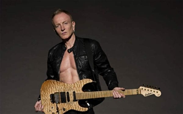 Phil Collen of classic rock band Def Leppard