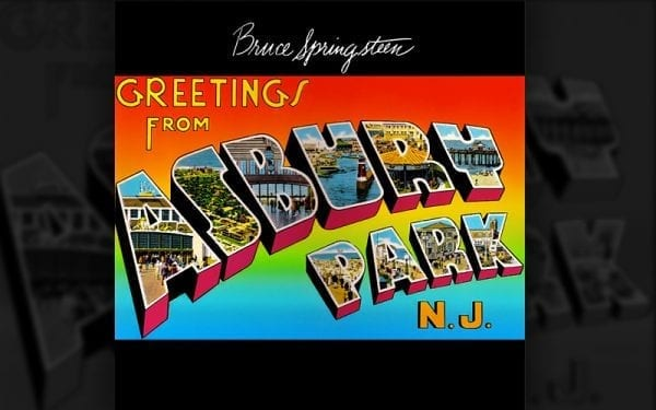 Bruce Springsteen Asbury Park album cover