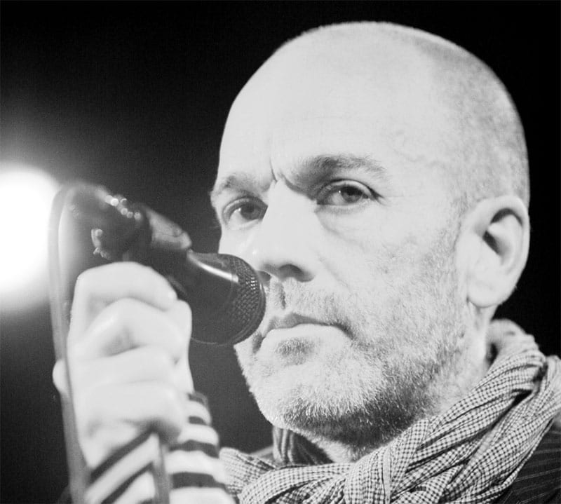 Michael Stipe of REM