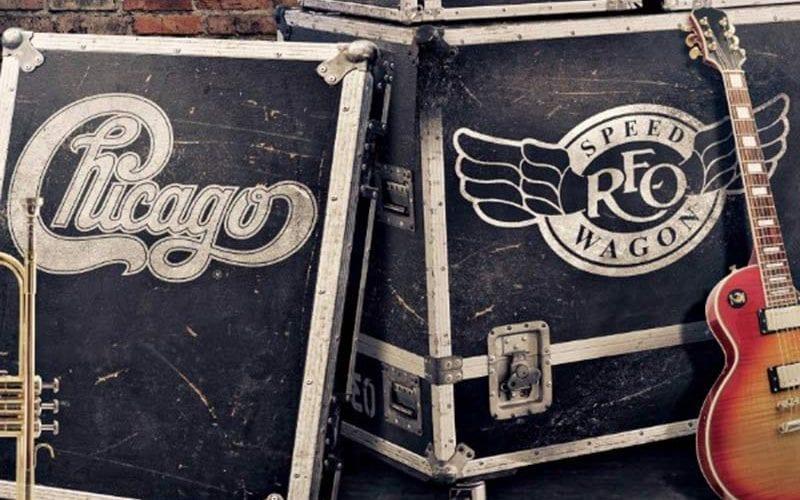 REO Speedwagon and Chicago tour