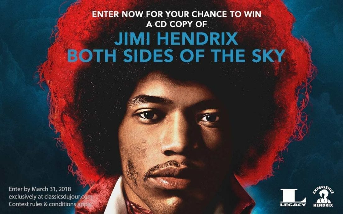 Jimi Hendrix Both Sides of the Sky contests