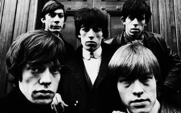 The Rolling Stones with Brian Jones