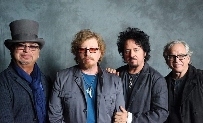 Classic rock band Toto