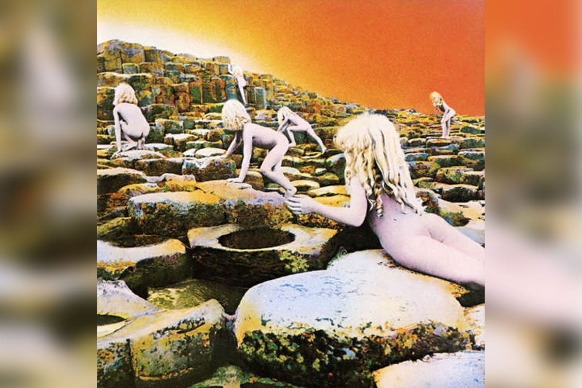 Led Zeppelin's Houses of the Holy album cover
