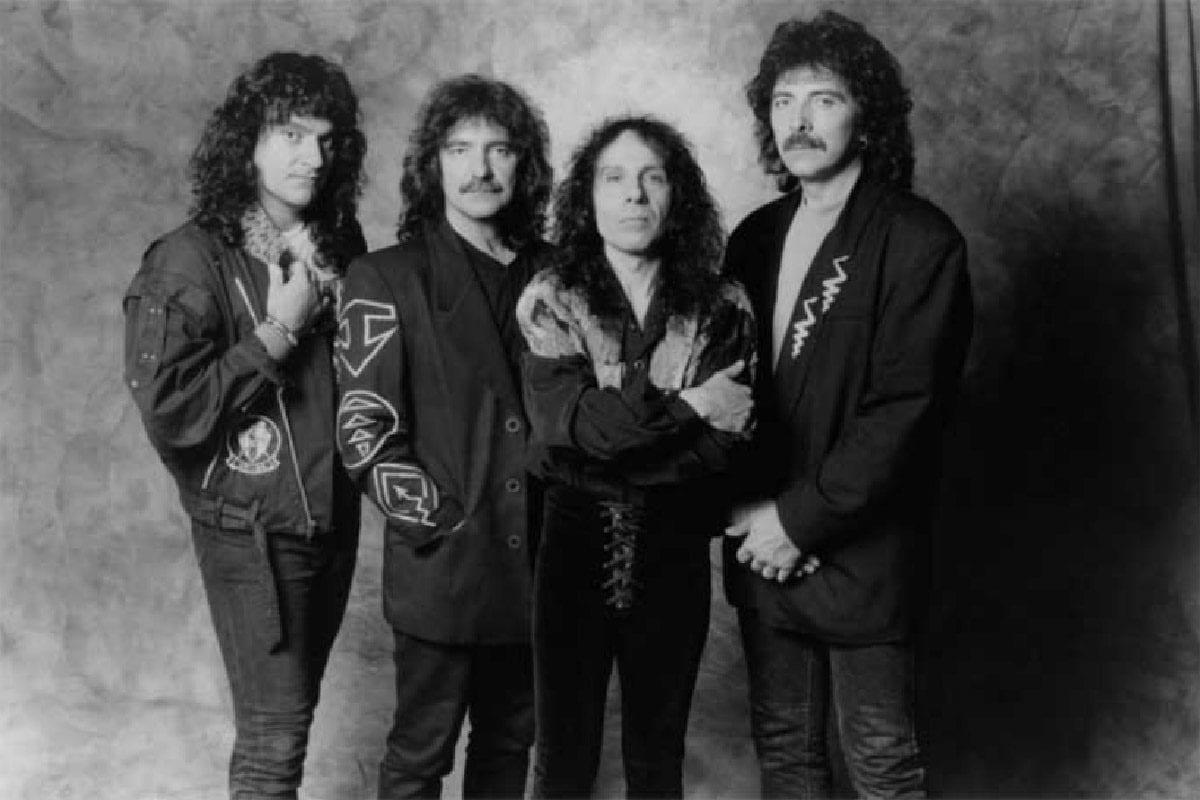 Ronnie James Dio with Black Sabbath