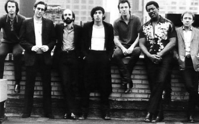 E Street Band in 1980