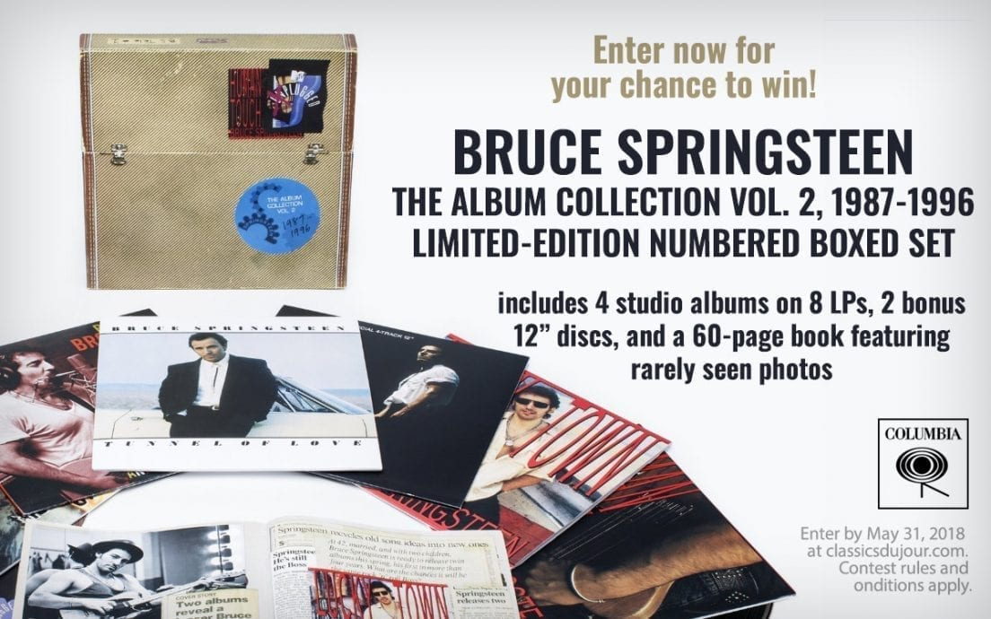 Bruce Springsteen Contest Box
