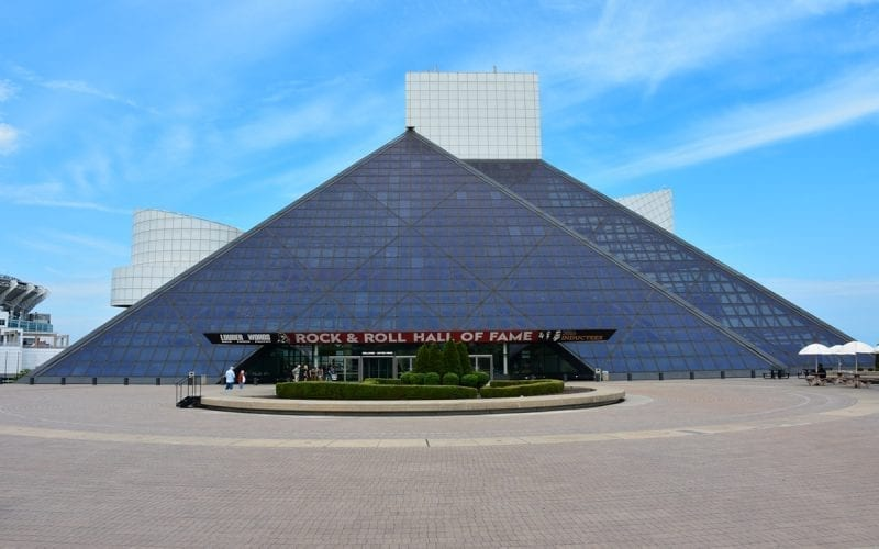 Rock and Roll Hall of Fame in Cleveland, OH