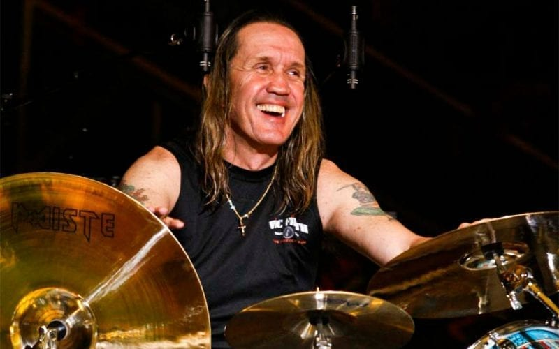 Nicko McBrain of Iron Maiden
