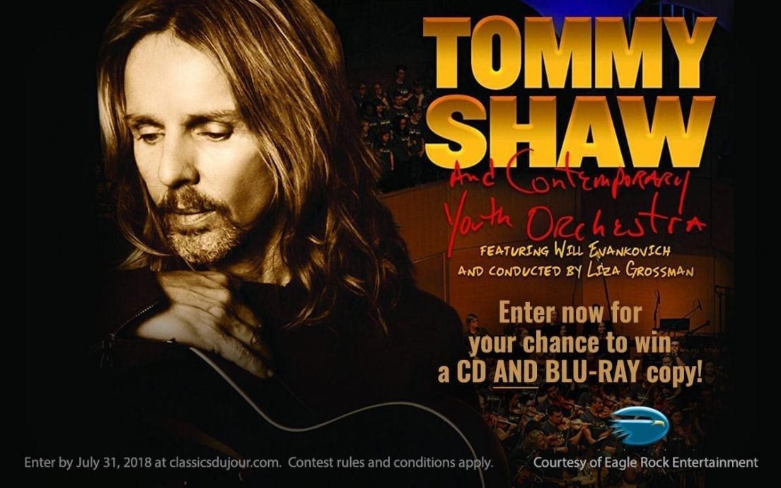 Tommy Shaw and Contemporary Youth Orchestra Sing For The Day! contest
