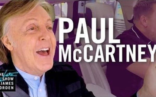 Paul McCartney on Carpool Karaoke