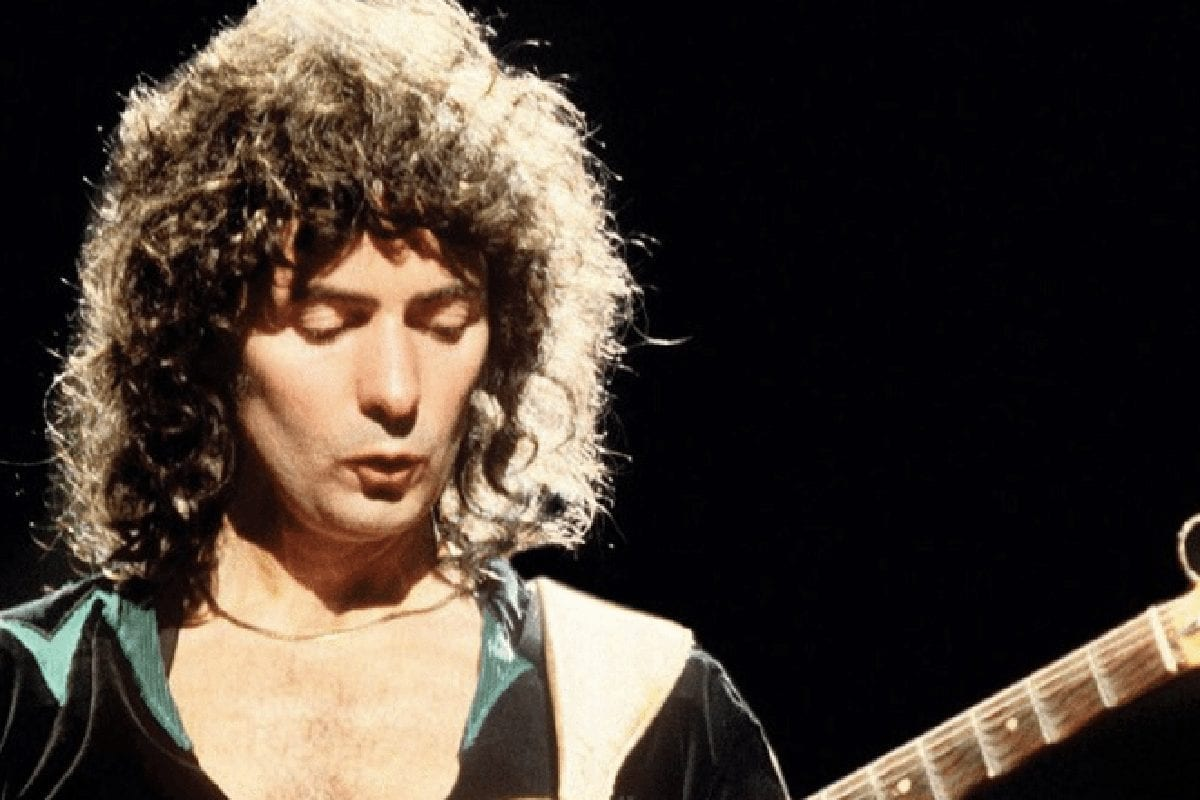 Ritchie Blackmore of classic rock bands Rainbow and Deep Purple