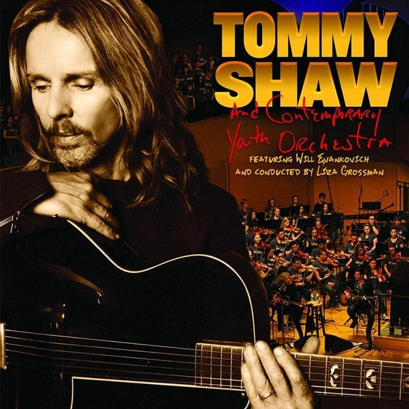 Tommy Shaw and Contemporary Youth Orchestra Sing For The Day!