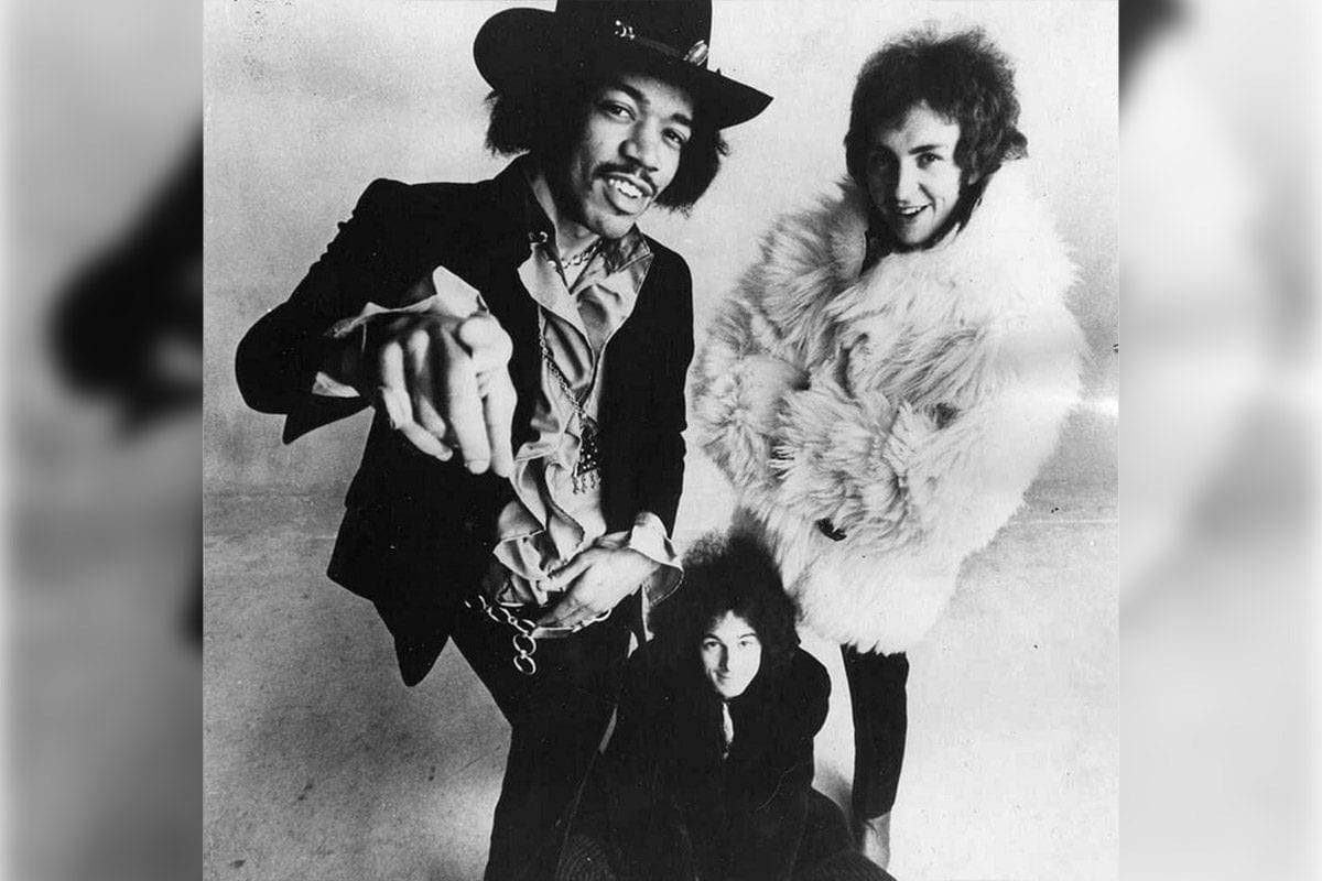The Jimi Hendrix Experience in 1968