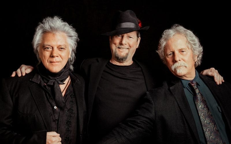Byrds members Roger McGuinn and Chris Hillman along with Marty Stuart