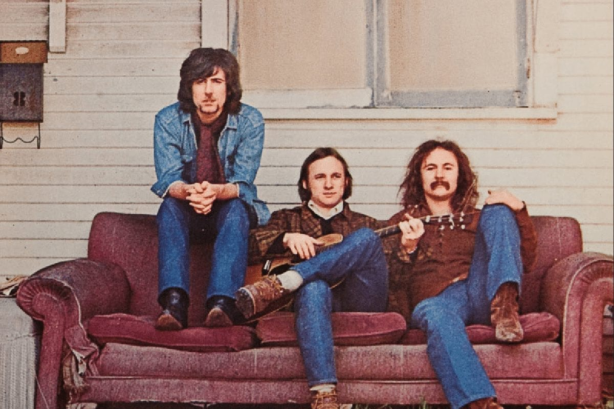 Classic rock trio Crosby, Stills & Nash
