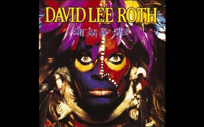 David Lee Roth Eat Em and Smile album cover