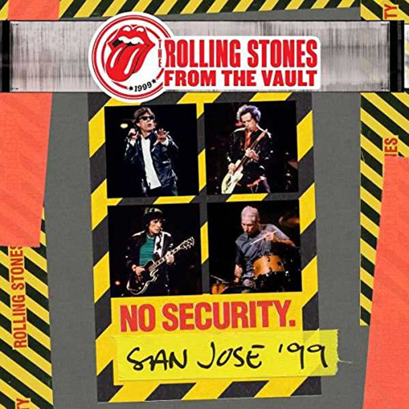 Rolling Stones No Security San Jose