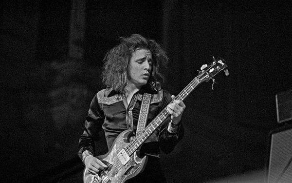 Jack Bruce of Cream in 1972
