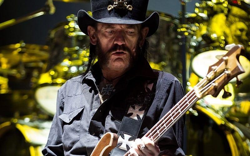 Motorhead bassist Lemmy Kilmister