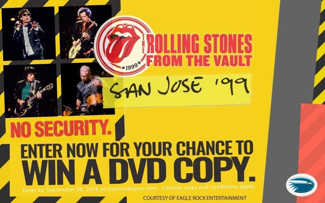 Rolling Stones San Jose No Security 99