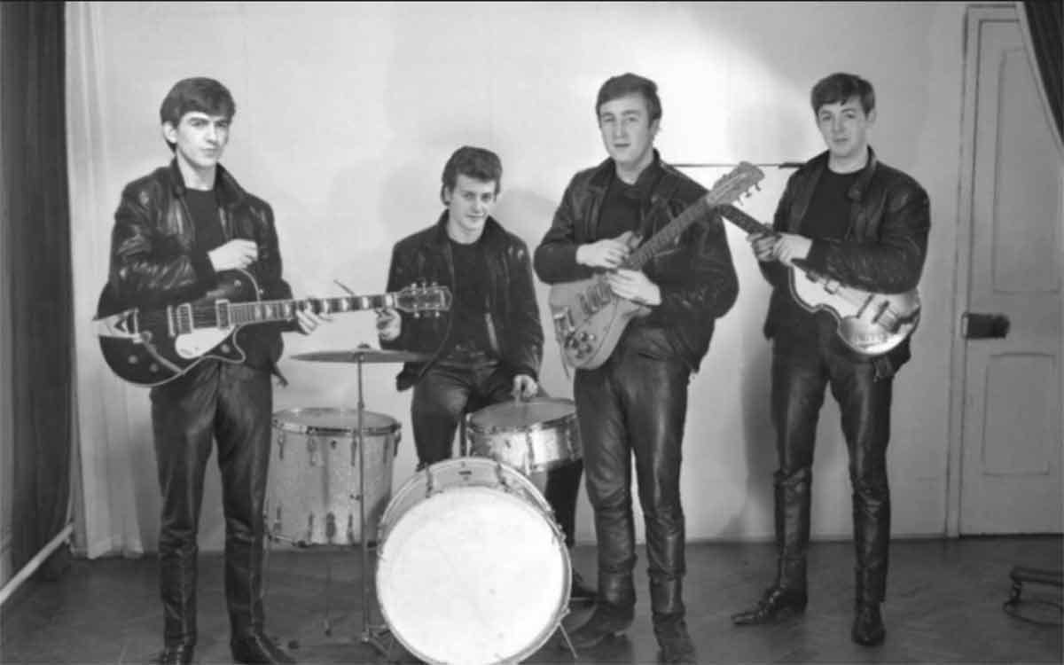 The Beatles in 1961