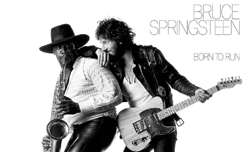 Bruce Springsteen's Born To Run album artwork