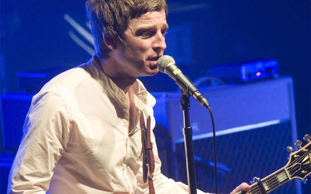 Noel Gallagher of rock band Oasis