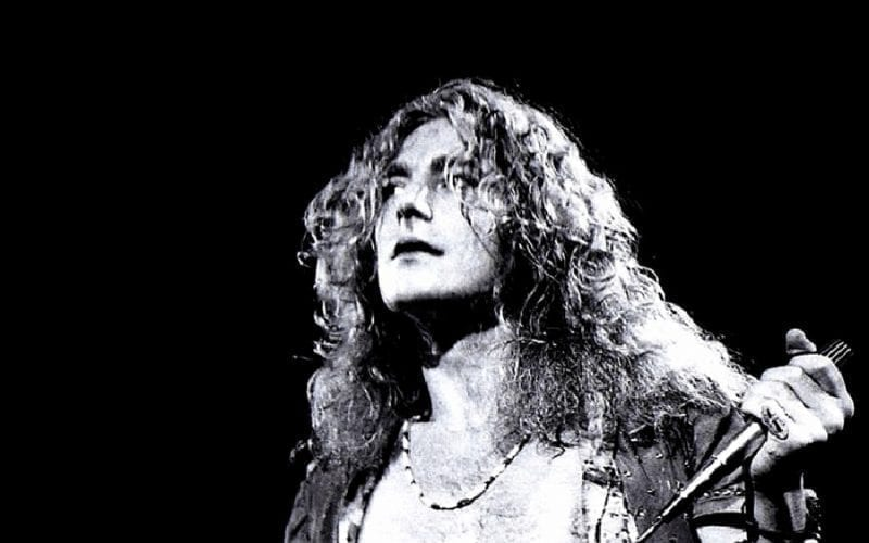 Robert Plant of classic rock band Led Zeppelin