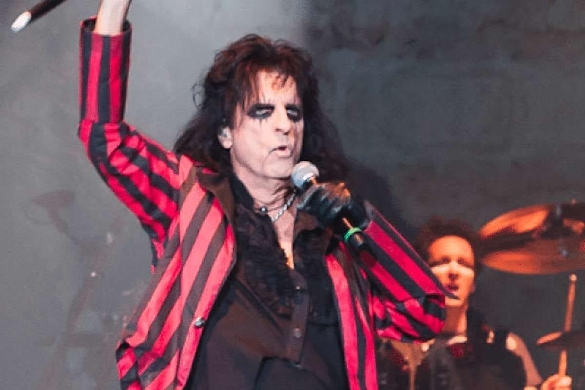 Alice Cooper in 2012