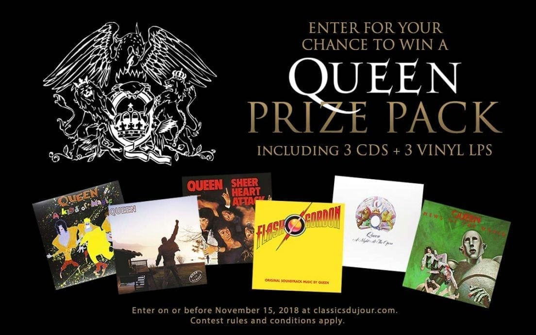 Queen prize pack contest