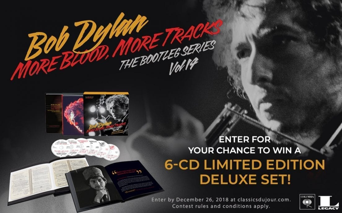 Bob Dylan More Blood More Tracks Bootleg Series Vol 14 contest