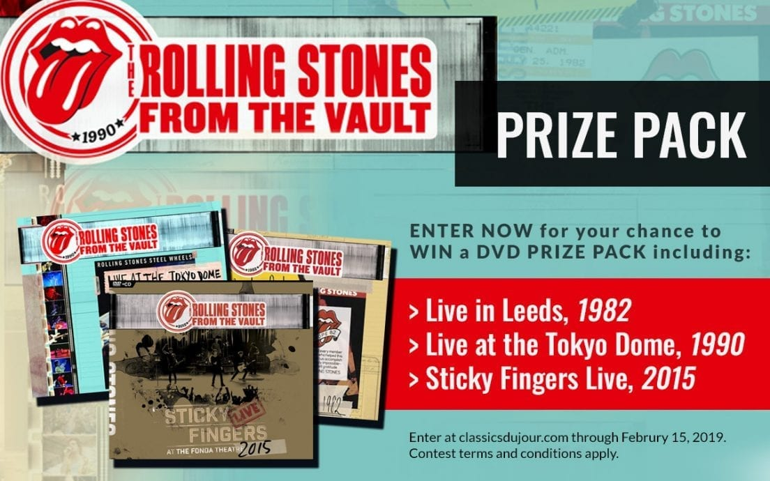 Rolling Stones From the Vault Prize Pack Contest