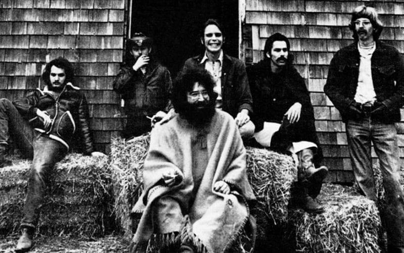 The Grateful Dead in 1970