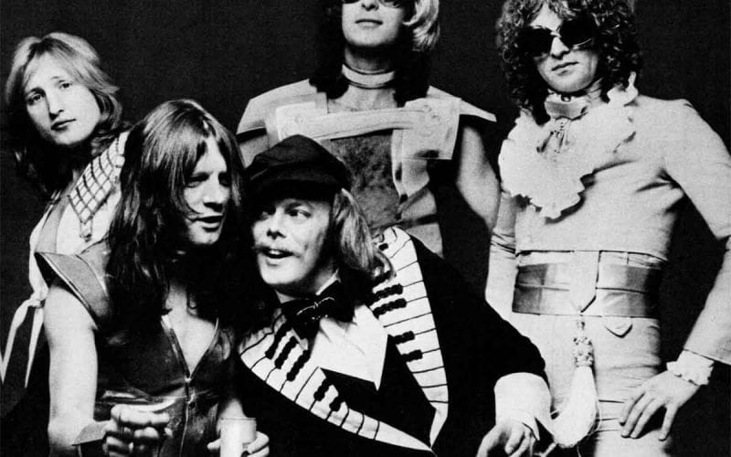 Mott the Hoople in 1974